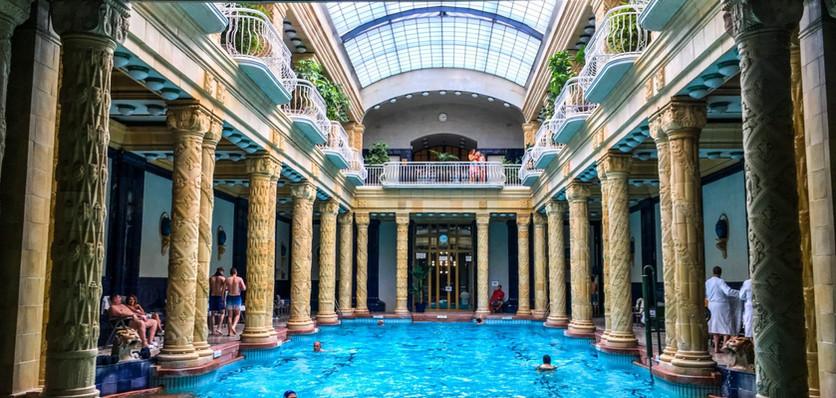 Gellért baths, Budapest (Hungary, Day 8)