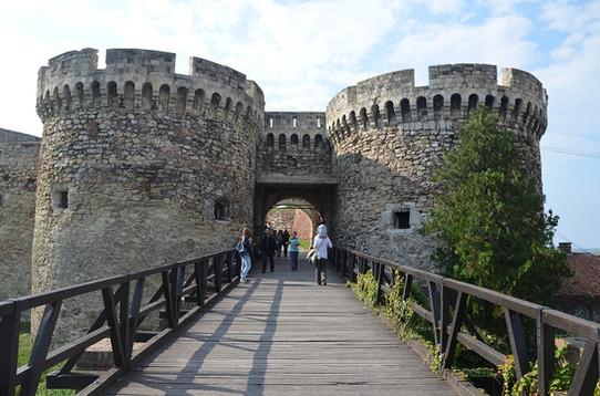 Belgrade fortress (Serbia)