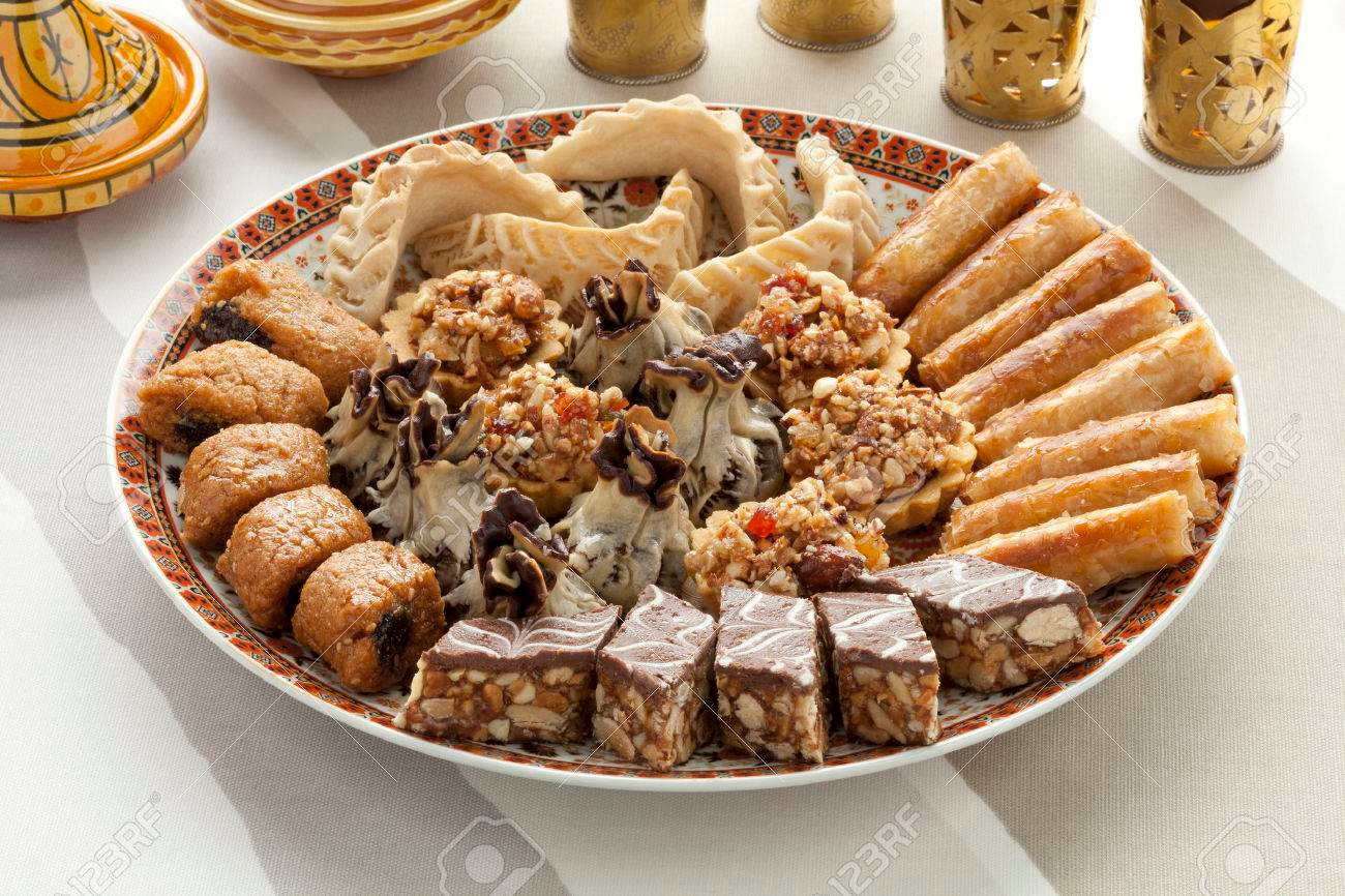 Moroccan pastries, sweet, tasty, delicious...