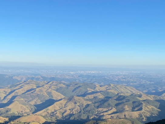 Monte Verde offers these magnificent panoramas of green hills and mountains of southern Minas Gerais...