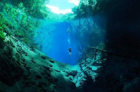 Diving in Bonito