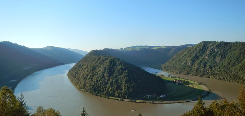 Danube bend near Schlögen (Austria, Day 1)