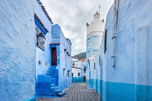 CHEFCHAOUEN, sacred city