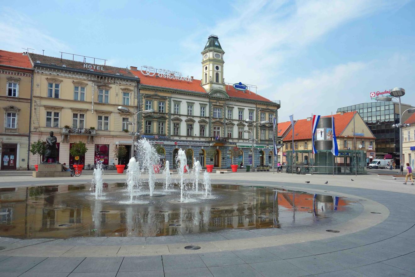 We also visit nice metropolises, like Osijek (Croatia)