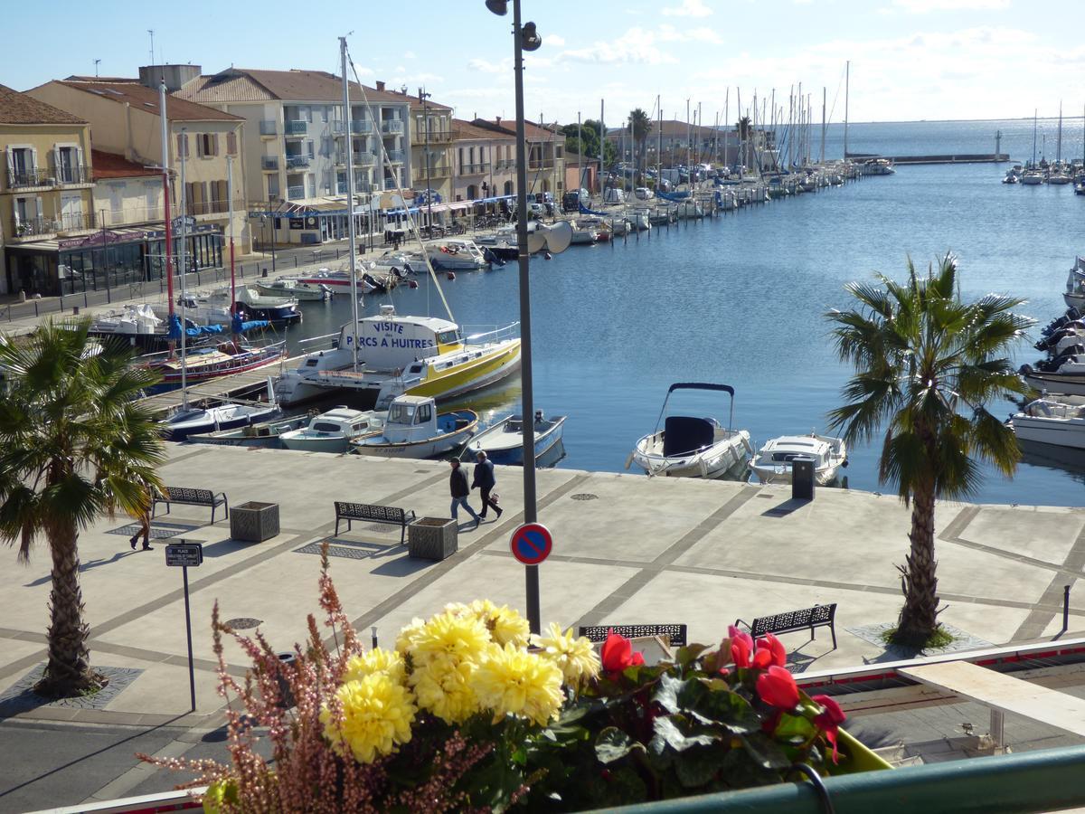 H - Sète Hôtel du Port - Vue mer.jpg