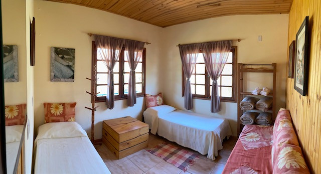The rooms at the fazenda