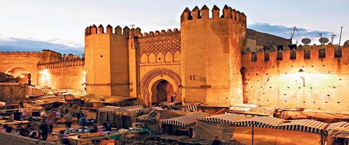 "MEKNES, ""the city of a hundred minarets"""