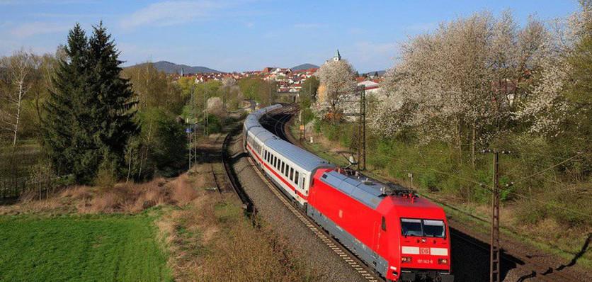 Munich-Passau by train (Germany, Day 1)