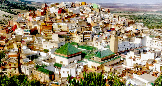 "MEKNES, Imperial City, the ""Versailles of Morocco"" or ""little Paris"""