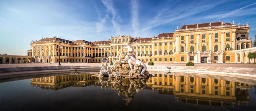 Schönbrunn castle, Vienna (Austria, Day 4)