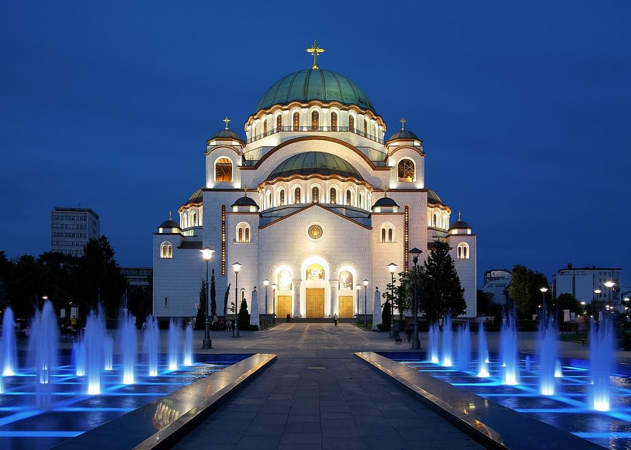 Saint-Sava Cathedral, Belgrade (Serbia)