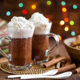 Viennese hot chocolate (Austria)