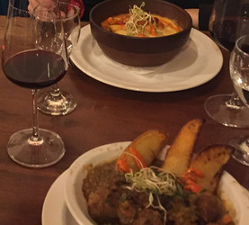 Lamb stew and sausage soup (Argentina)