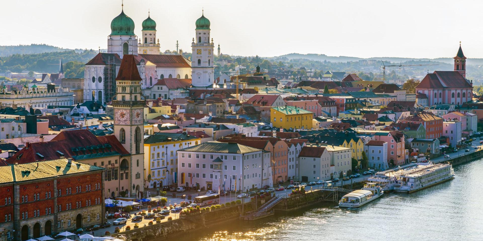 Passau (Germany, Day 1)