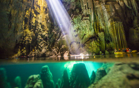 Cave or abyss in Bonito