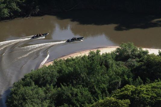 Kayak or boat ride on the river (Pantanal)