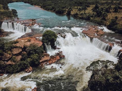 Velha Waterfall, an Iguaçu in miniature
