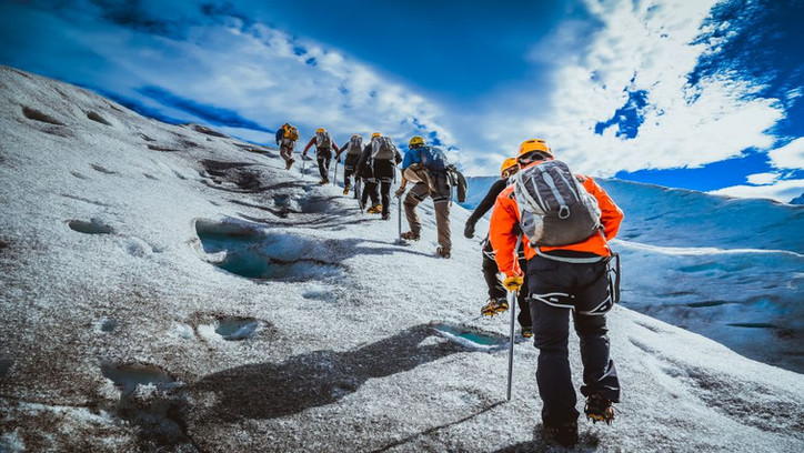 Trekking on the Grey Glacier (W and O circuits)