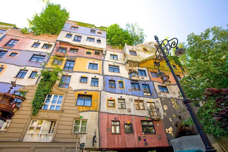Hundertwasserhaus, Vienna (Austria, Day 4)
