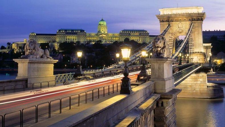 The Chain bridge, Budapest (Hungary, Day 8)