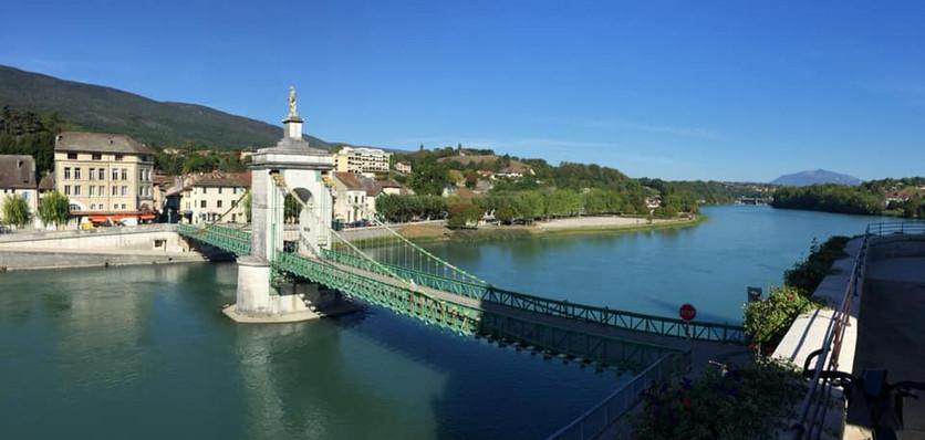 The Black Virgin bridge in Seyssel (Day 2)