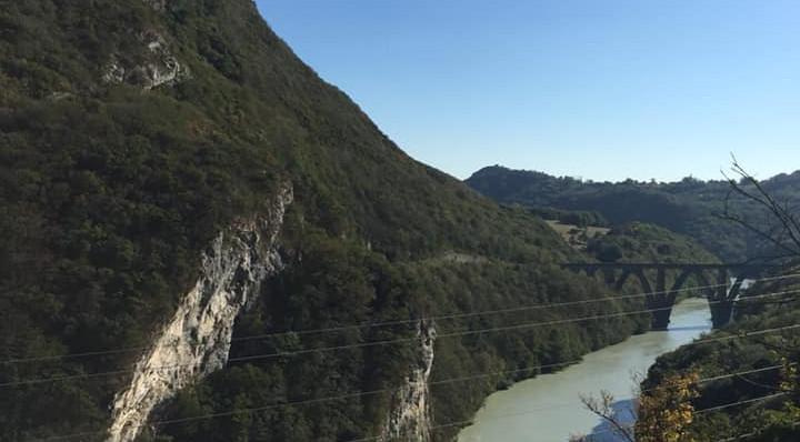 The Rhône near Fort-L'Écluse (Day 1)
