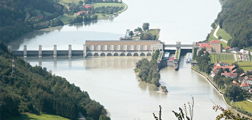Obernzell lock (Austria, Day 1)