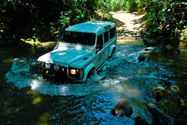 The return in 4x4 is part of the adventure...
