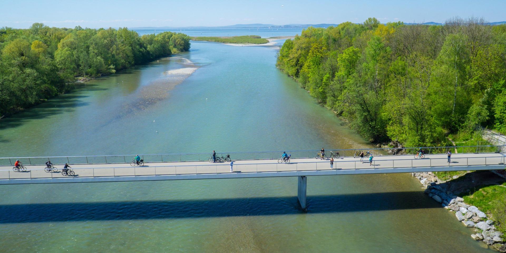 Eurovélo 6 bridge near Ufer (Austria, Day 2)