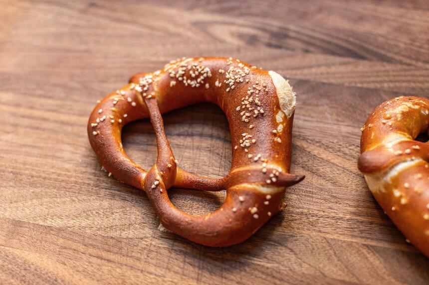 Bretzel (specialty of Bavaria, Germany)