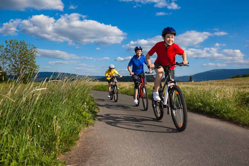 The ViaRhôna Bike Tour can also be a family adventure...