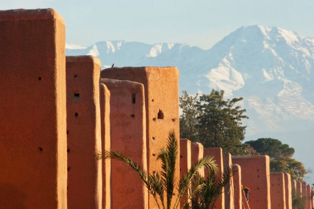 "MARRAKECH,  the ""red city"""