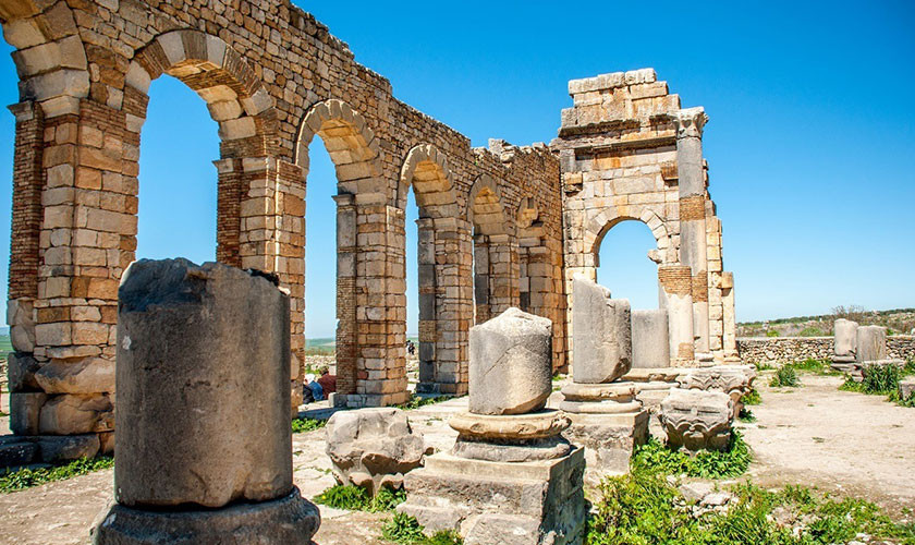 VOLUBILIS, وليلي in Arabic, Oualili or Walila