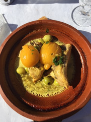 Chicken tagine with lemon