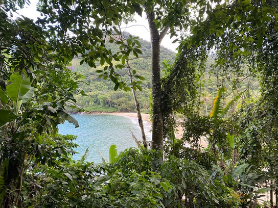 The hike on the 2nd day passes by 6 beautiful and wild beaches...