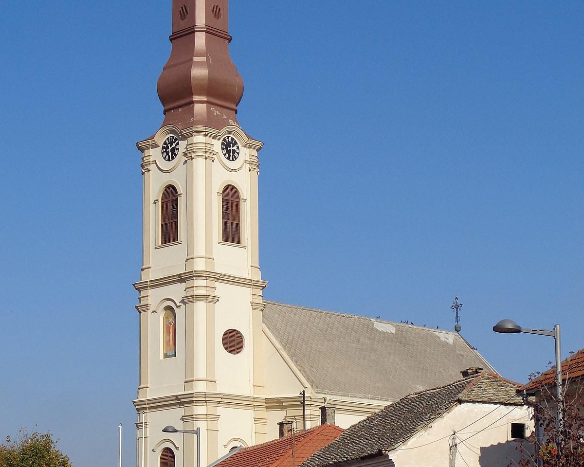 Stari Banovci church (Стари Бановци, Day 7)