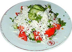 Chopska salata (Serbia)