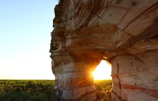 Pedra Furada, for an unmissable sunset