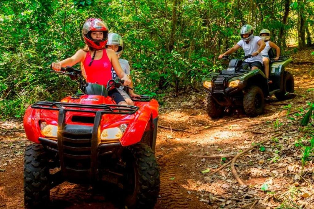 Quad bike tour in Bonito