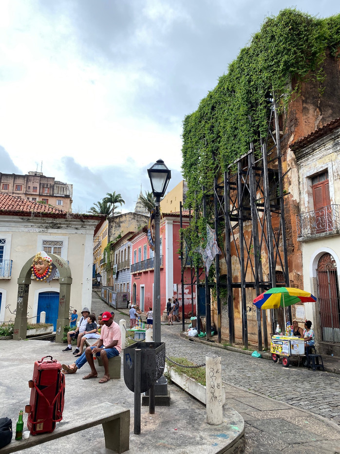 Up and down streets, colorful squares, old multicolored houses,...