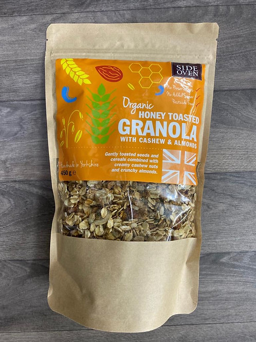 Honey toasted granola with Nuts