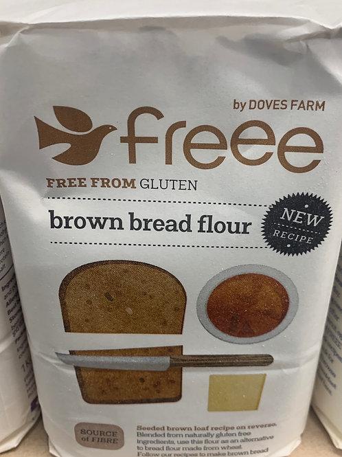 Gluten free brown bread flour