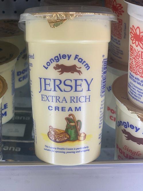 Luxury jersey double cream
