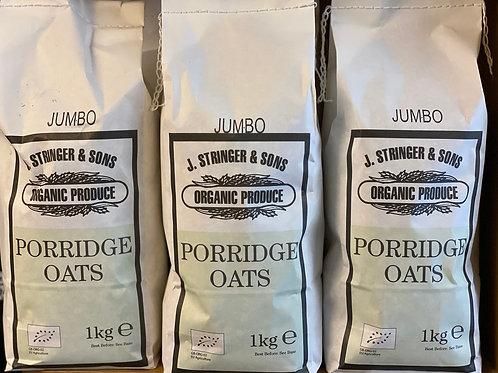 Organic jumbo porrdige oats