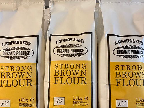 Organic strong brown flour