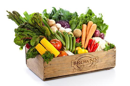 Vegetable and salad box