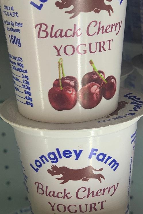 Black cherry yogurt
