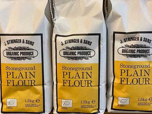 Organic stoneground plain flour