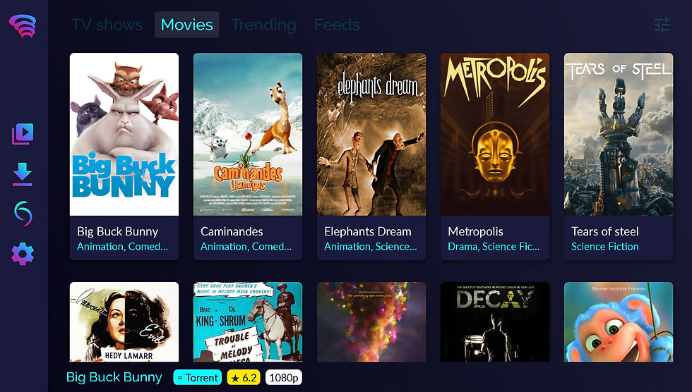 Torrentium TV - Stream and Manage torrents