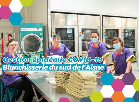 Une gestion maîtrisée du linge et des process en période d'épidémie COVID-19